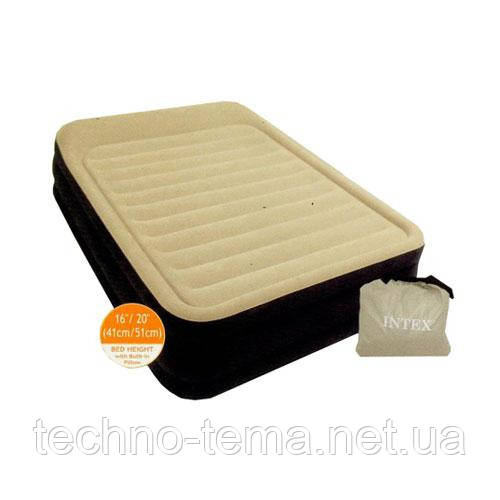 Кровать надувная  INTEX 152х203х51 см (64408)