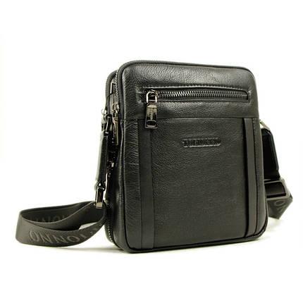Удобная и практичная мужская сумка из натуральной кожи, фото 2