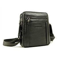 Удобная и практичная мужская сумка из натуральной кожи