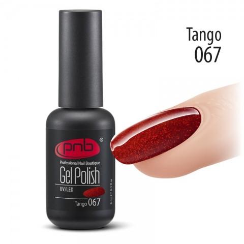 Гель-лак PNB 067 Tango 8 мл.