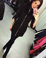 Женское модное кашемировое пальто в расцветках *Оригами* (размеры 42, 44, 46, 48), фото 1