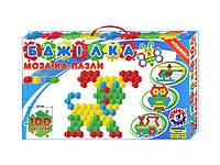 Детская мозаика коврик Пчелка 100эл (1035)