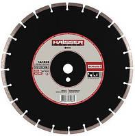 Круг алмазный 1A1RSS/C3-H Haisser Асфальт 350 мм сегментный диск по асфальту и свежему бетону