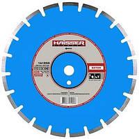 Круг алмазный 1A1RSS/C1-H Haisser Бетон 350 мм сегментный отрезной диск по бетону
