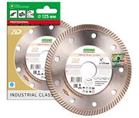 Круг алмазный Distar 1A1R Gres Master 125 мм отрезной алмазный диск по керамограниту, граниту и керамике