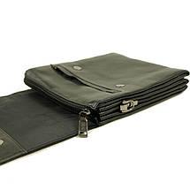 Небольшая практичная мужская сумка из натуральной кожи, фото 3