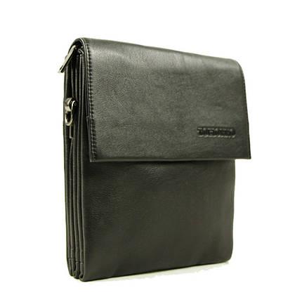 Небольшая практичная мужская сумка из натуральной кожи, фото 2