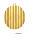Доска из бамбука 28 см Kamille 1007*