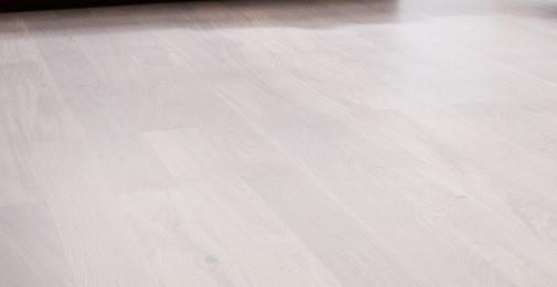 Паркетная доска Barlinek White Truffle Дуб 1 полосний, білий матовий лак, FAMILY (2200*180*14 мм)