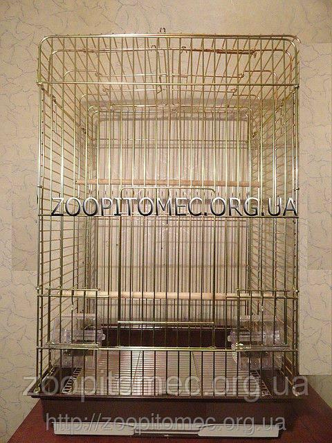 Клетка для попугаев с открывным верхом