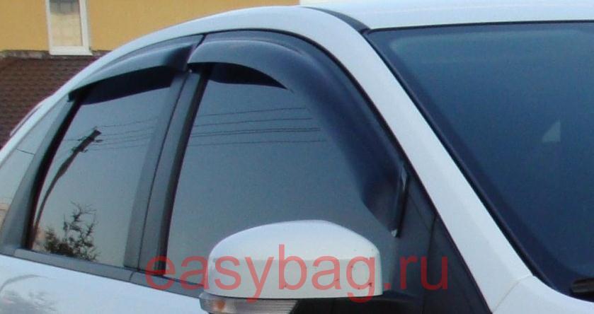 Ветровики Ford Focus 4d 2005-2010 - AEROKLAS Ukraine в Киеве