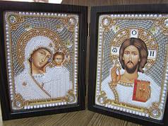 Православные складни - наборы для вышивания ювелирным бисером