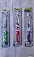 Нож металокерамика с рисунком