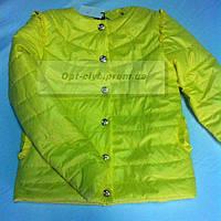 """Куртка подростковая """"Радуга-6 """"для девочек от 6до 12 лет( рост 122-152)"""