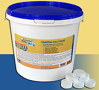 Химия для бассейнов Crystal Pool MultiTab 4-in-1Small,1кг