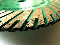 Круг алмазный Distar Turbo Duplex TGS30H 125 мм отрезной диск по граниту для УШМ, Дистар, Украина