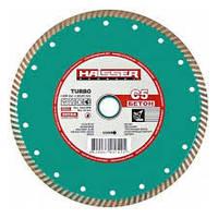 Круг алмазный Turbo Haisser С5 Бетон 125 мм отрезной диск по бетону, кирпичу и шиферу