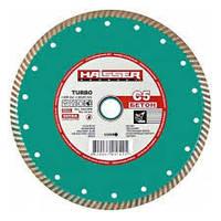 Круг алмазный Turbo Haisser С5 Бетон 230 мм отрезной диск по бетону, кирпичу и шиферу