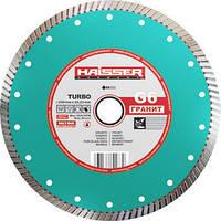 Круг алмазный Turbo Haisser G6 Гранит 230 мм отрезной диск по граниту, песчанику и кирпичу