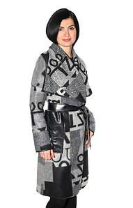 Женское кашемировое пальто - кардиган
