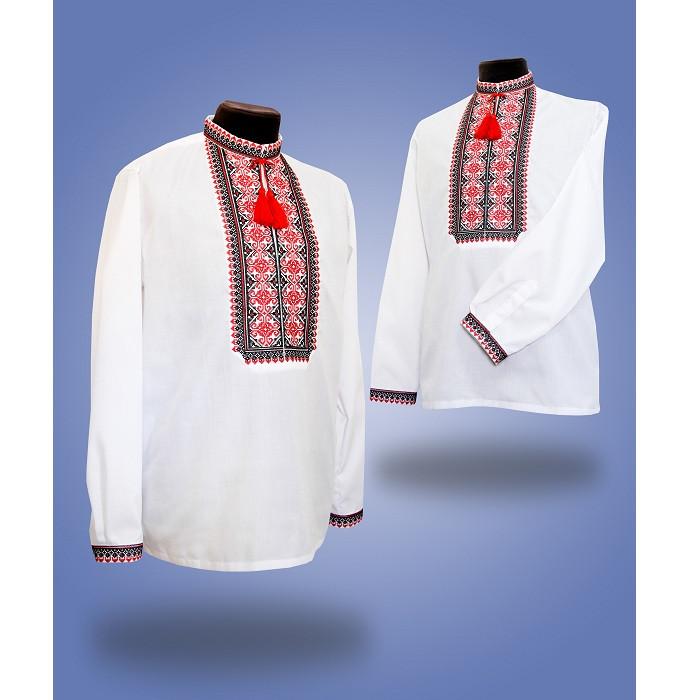 Мужская сорочка вышиванка  - Млечный путь