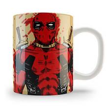 """Друк на чашках """"Deadpool"""""""