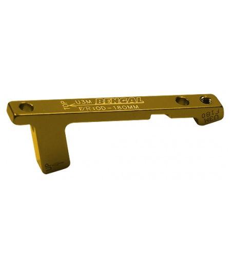 Адаптер Bengal тормозного калипера передний/задний 180mm PM золот.