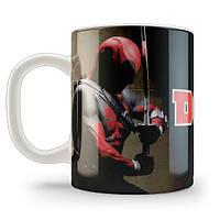 """Печать на чашках """"Deadpool"""""""