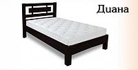 Односпальная кровать из натурального дерева Диана 0,8м х2,0м