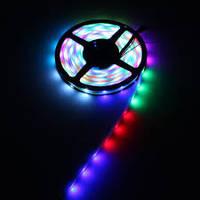 Светодиодная лента SMD 5050 30 LED/m IP20, RGB, фото 1