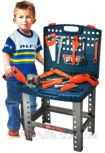 Детский набор инструментов Чемодан-стол Limo Toy (008-22) - Домик Эльфа в Харькове