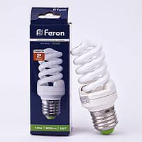 Энергосберегающая лампа Feron ELT19 15W 230V E27 2700K (белый теплый)