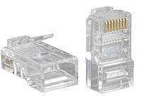Коннектор RJ45 RJ-45 CAT5 Plug Network конектор х10штук