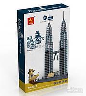 Пазл Башни Петронас (Petronas Towers) WanGe 3D  (8011)