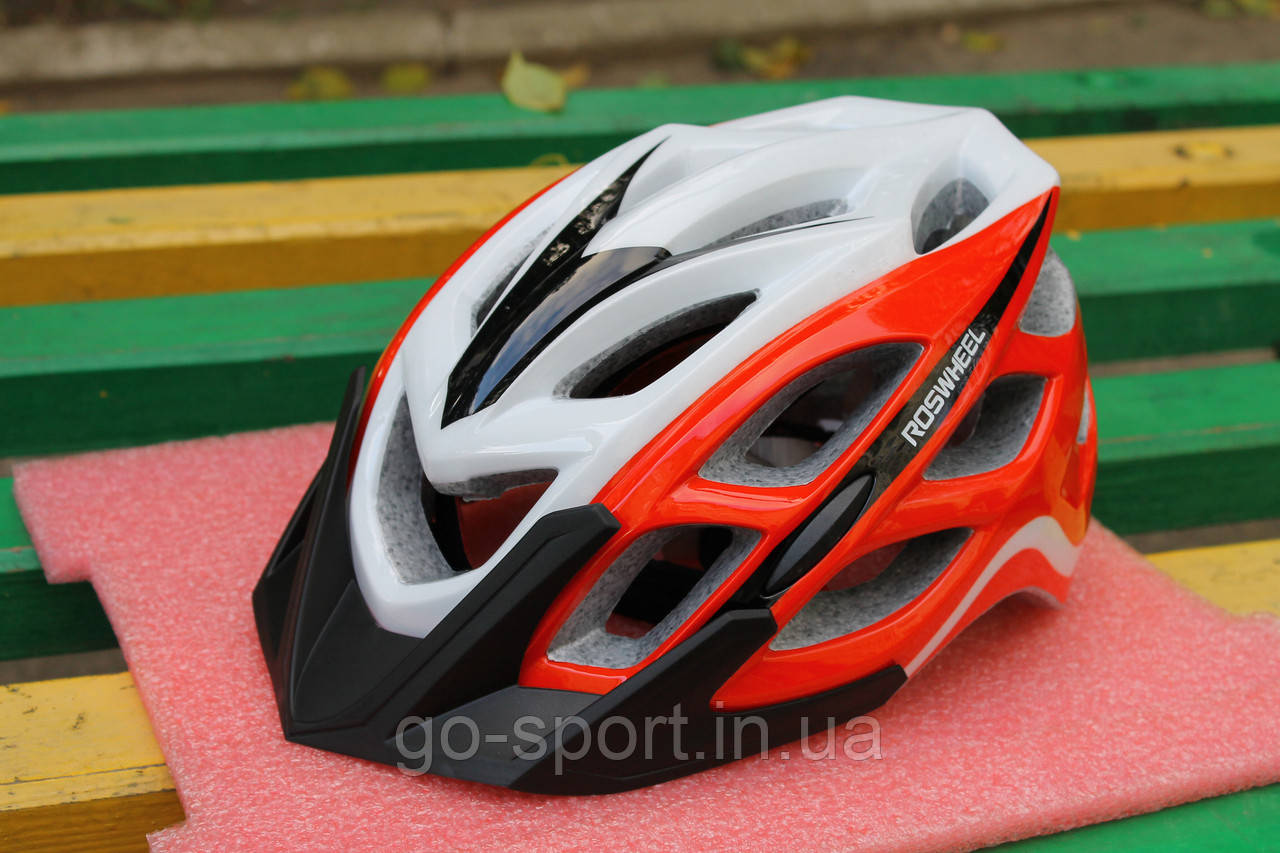 Шлем велосипедный Roswheel red