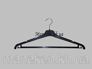 Вешалка костюмная ребристая  1 сорт 40 см, фото 2