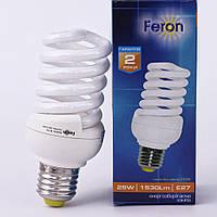 Энергосберегающая лампа Feron ELT19 25W 230V E27 2700K (белый теплый)