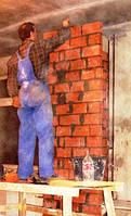 Кладка стен из керамоблока  2 НФ