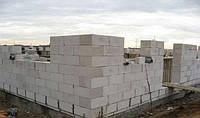 Кладка стен из газобетонных блоков 400х200х600