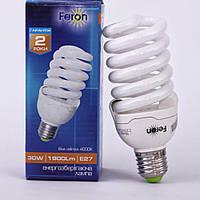 Энергосберегающая лампа Feron ELT19 30W 230V E27 2700K (белый теплый)