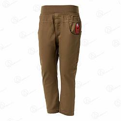 Детские брюки джинсовые для мальчиков sh-01olive