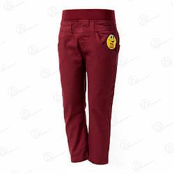 Брюки джинсовые детские дешево sh-01cherry
