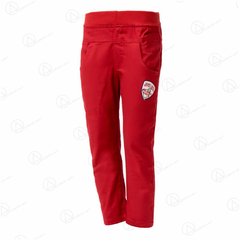 Детские красные брюки джинсовые хлопок sh-02Red