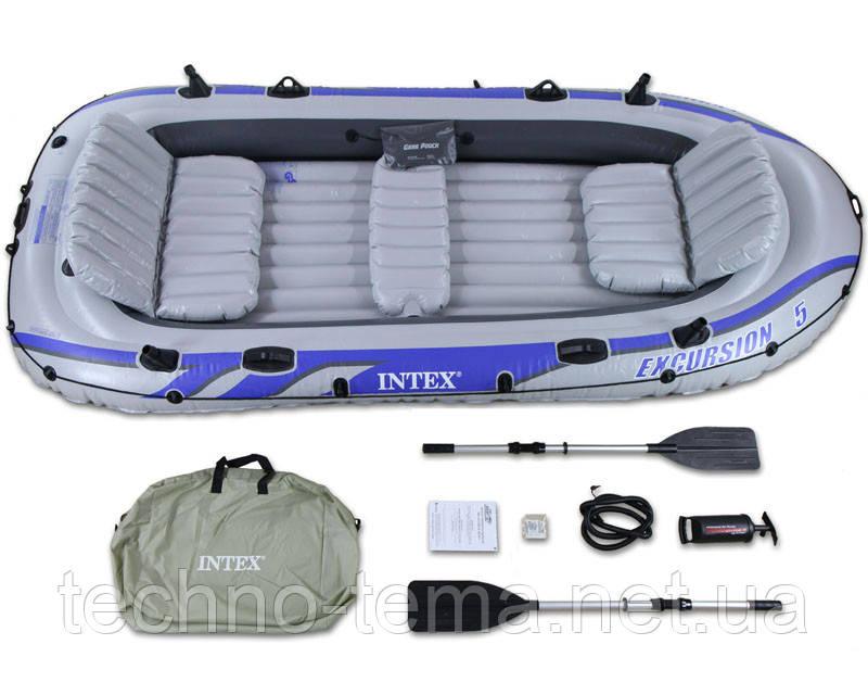 Надувная лодка Excursion INTEX 366х168х43 см (68325)