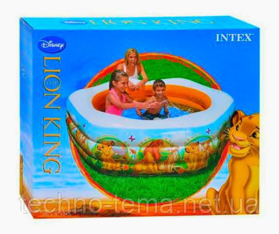 Надувной бассейн Дисней INTEX 191х178х61 см  (57497)