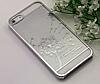 Чехол пластиковый Clear Silver для Iphone 5/5s
