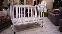Кровать детская Зайченок белый