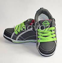 Детские кроссовки для мальчика серые Badoxx 29р, фото 3