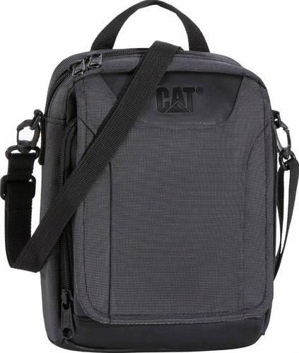 Повседневная сумка молодежная на плечо для планшета CAT, Spare Parts Rebooted 83256;01 черный