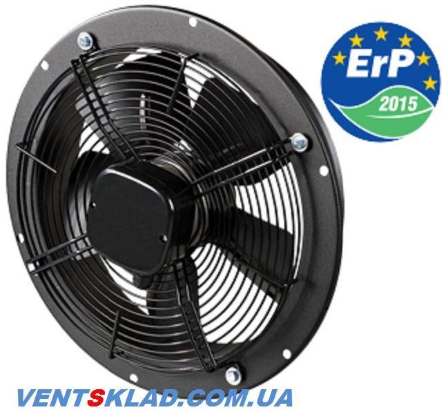 Осевой вентилятор низкого давления для вентиляции цеха, склада, фермы до 3580 м3/час Вентс ОВК 4Е 400